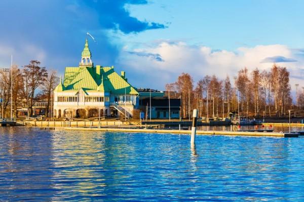 Финляндия весной
