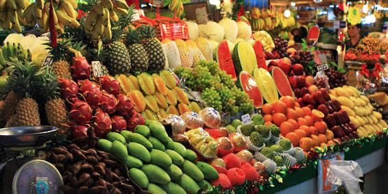 фрукты в тайланде