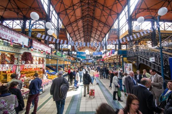 Центральный крытый рынок Будапешта