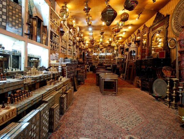 Арабский рынок в Иерусалиме