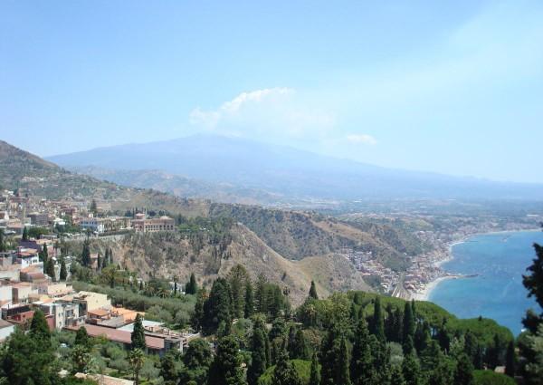 Сицилия - вид на город