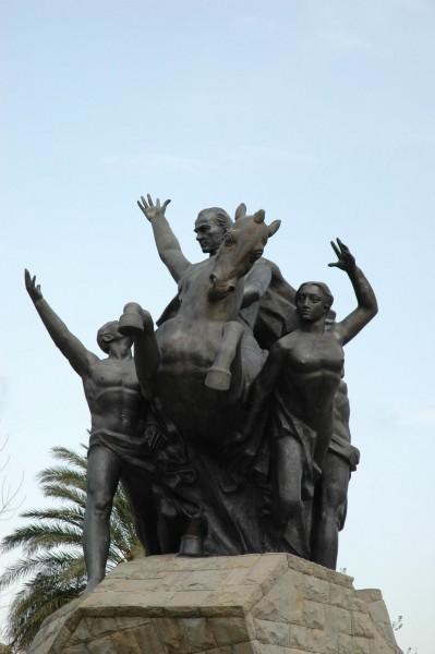 Анталия - Памятник Ататюрку
