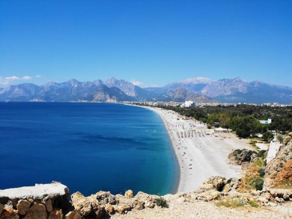 Анталия - вид н пляж