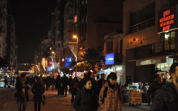 Измир - улица Алсанджан