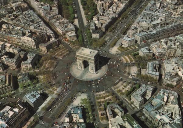 Елисейские поля - Площадь звезды и триумфальная арка