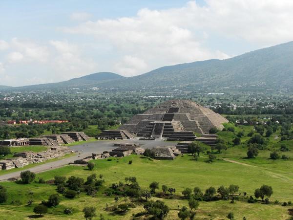 Загадочный Теотиуакан в Мексике