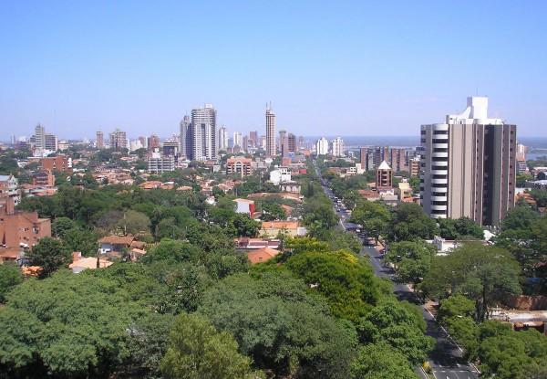 Асунсьона - столица Парагвая