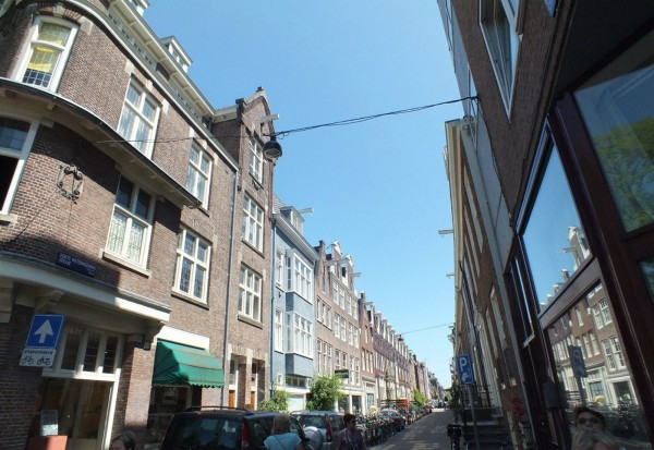 Фасад дома в Амстердаме
