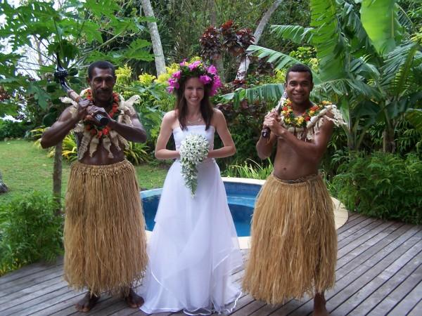 Церемония бракосочетания на Фиджи