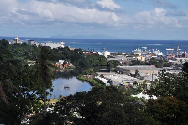 Административный центр Фиджи - город Сува
