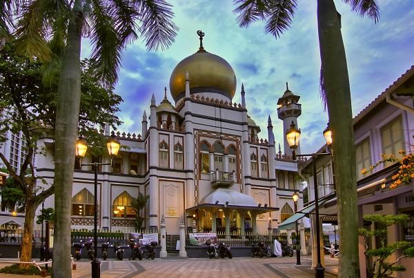 Мечеть Султана в арабском районе Сингапура