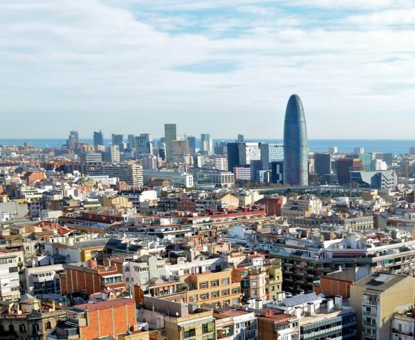 Барселона - вид на город