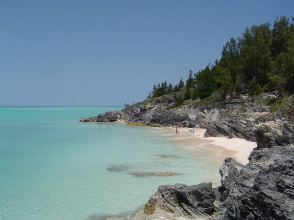 Бермуды - пляж