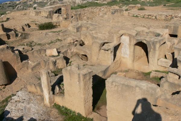 Царские гробницы - известная достопримечательность Кипра