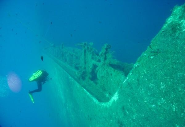 Паром «Зенобия», затонувший у берегов Кипра