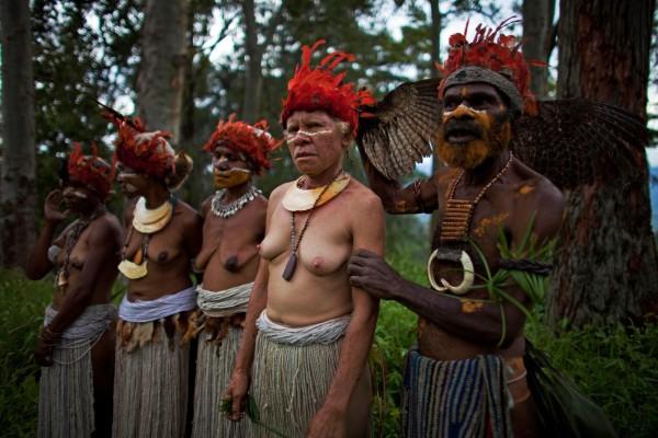 Население Папуа-Новая Гвинея