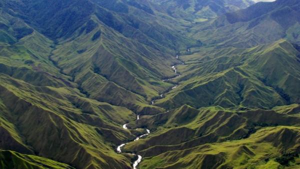 Горы Папуа-Новая Гвинея