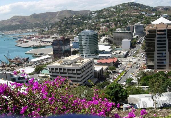 Порт-Морсби в Папуа-Новая Гвинея