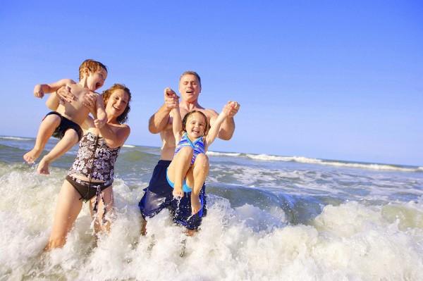 Отдых на море с детьмии