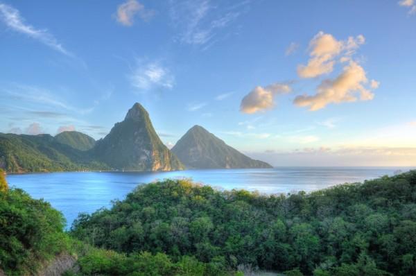 Горы острова Сент-Люсия