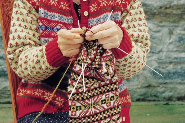 Традиционное вязание Fair Isle