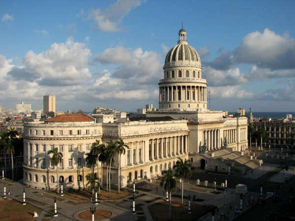 Капитолий на центральной площади Гаваны