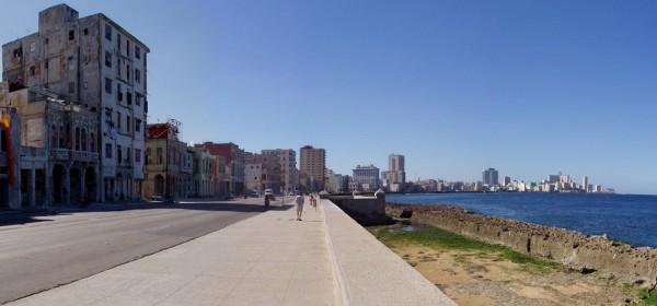 Гавана - набережная Малекон