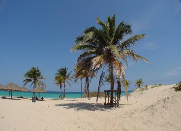 Пляж Санта Мария Дель Мар в Гаванской Ривьере