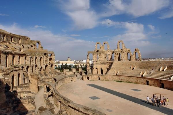 Тунис - развалины Карфагена