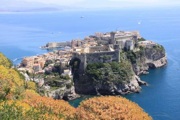 Вид на замок Гаэты