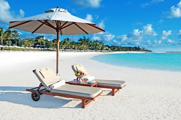 Белоснежные песчаные пляжи Маврикия
