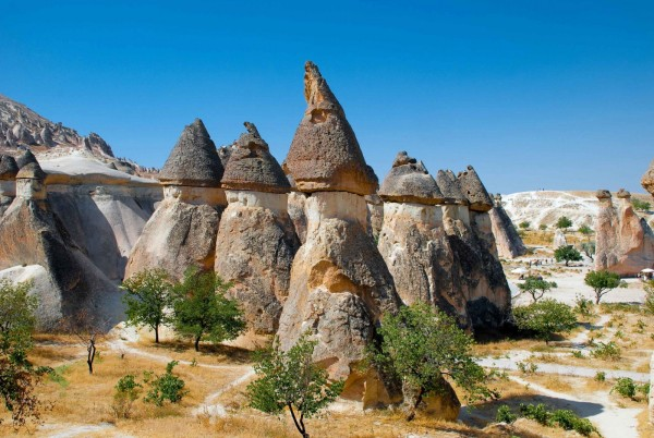 Загадочная область Турции — Каппадокия