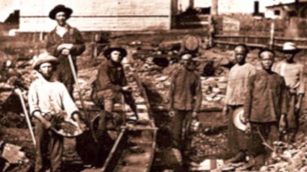 Золотая лихорадка в Австралии, 1850-е гг.
