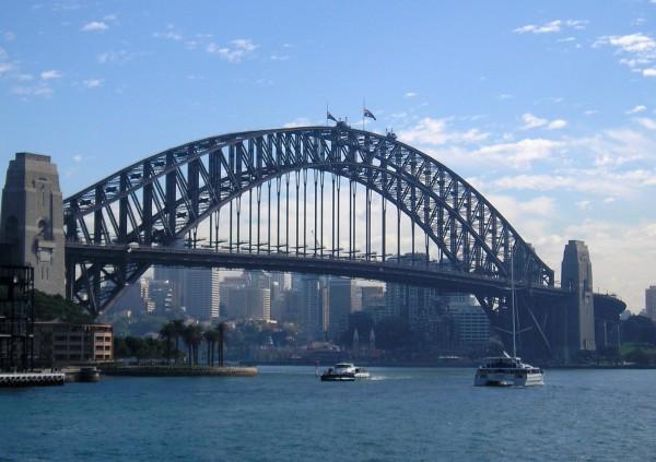 Мост Харбор Бридж, Сидней