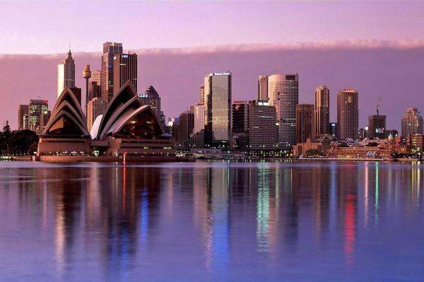 Австралия — неизвестный Сидней