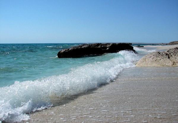 Побережье Каспийского моря