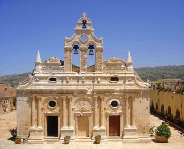 Аркадийский монастырь на Крите