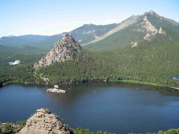 Озеро Боровое в Казахстане