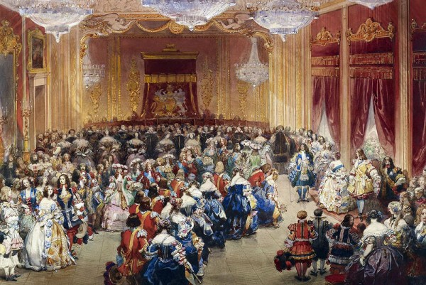 Бал в Букингемском дворце. Eugène Louis Lami, 13 июня 1851