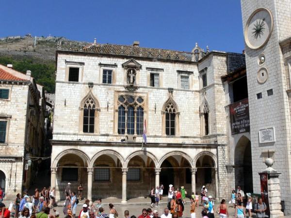 Дворец Спонза в Дубровнике