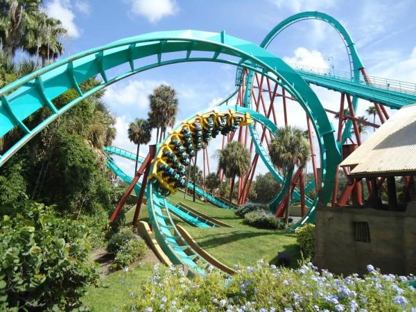 Тематический парк Busch Gardens